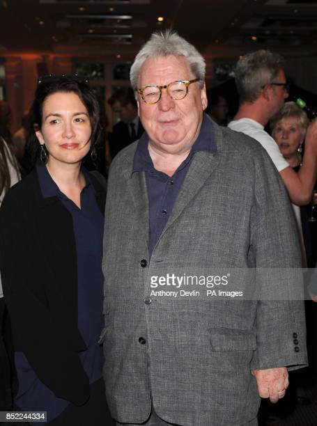 Lisa Moran and Alan Parker arriving at the Sunshine on Leith film VIP screening at BAFTA in Piccadilly in London