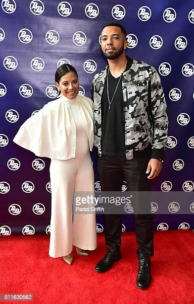 Lisa Nicole Cloud and Christian Keyes attend Bronner Brothers International Beauty Show at Georgia World Congress Center on February 21 2016 in...