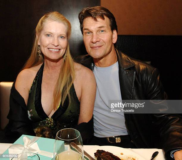 Lisa Niemi and Patrick Swayze