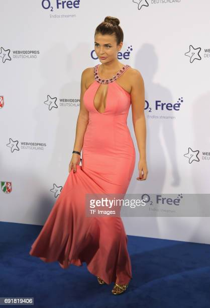 Lisa of BodyRockTV attends the Webvideopreis Deutschland 2017 at ISS Dome on June 1 2017 in Duesseldorf Germany