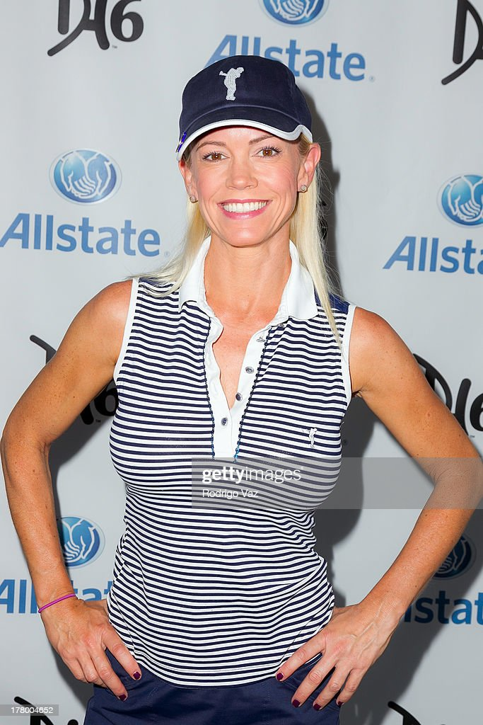 Lisa O'Hurley attends the 2nd Annual Dennis Haysbert Humanitarian Foundation Celebrity Golf Classic at Lakeside Golf Club on August 26, 2013 in Burbank, California.