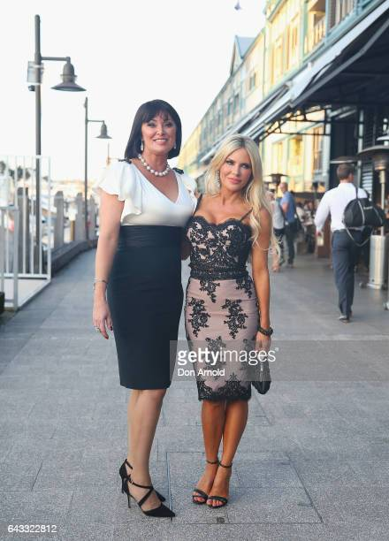 Lisa Oldfield and Melissa Tkautz attends The Real Housewives of Sydney Launch Event at Otto restaurant on February 21 2017 in Sydney Australia