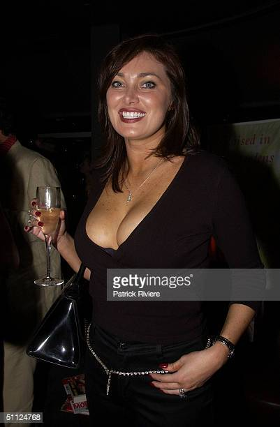 Lisa Oldfield at the launch of Bessie Bardot's book 'Casting Couch Confidential' at the Posh Lounge in Sydney