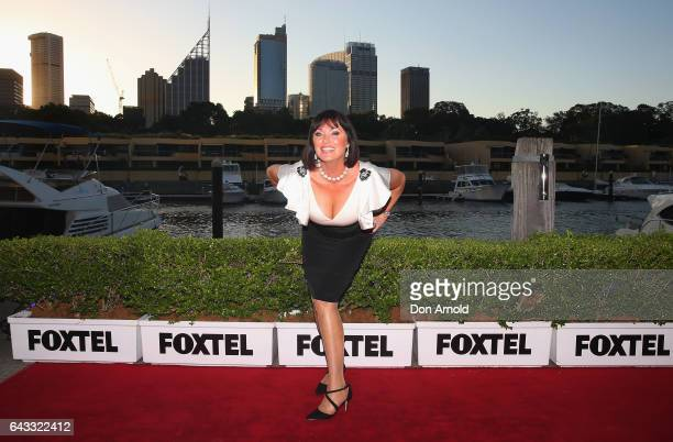 Lisa Oldfield attends The Real Housewives of Sydney Launch Event at Otto restaurant on February 21 2017 in Sydney Australia