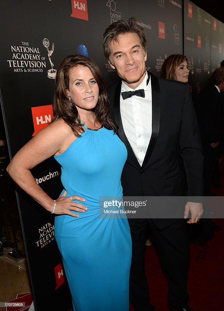 Lisa Oz and Dr. Mehmet Oz attend the 40th Annual Daytime Emmy Awards at the Beverly Hilton Hotel on June 16, 2013 in Beverly Hills, California. 23774_001_0350.JPG