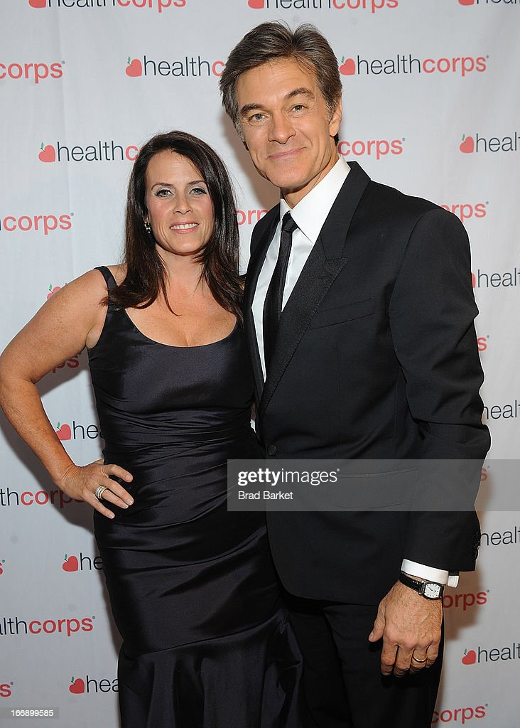 Lisa Oz and Dr. <a gi-track='captionPersonalityLinkClicked' href=/galleries/search?phrase=Mehmet+Oz&family=editorial&specificpeople=4175862 ng-click='$event.stopPropagation()'>Mehmet Oz</a> attend the 7th Annual Heath Corps Grassroots Garden Gala at Gotham Hall on April 17, 2013 in New York City.