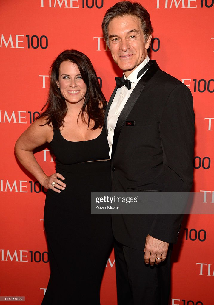 Lisa Oz and Dr Mehmet Oz attend TIME 100 Gala, TIME'S 100 Most Influential People In The World at Jazz at Lincoln Center on April 23, 2013 in New York City.
