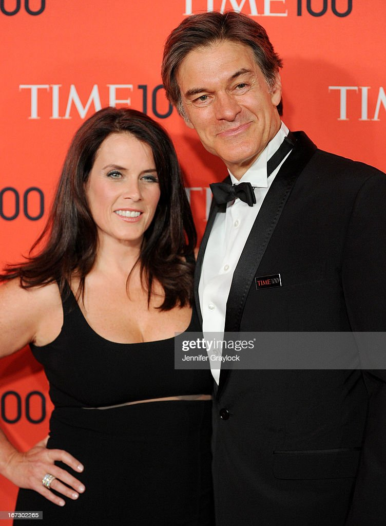 Lisa Oz and Dr Mehmet Oz attends the 2013 Time 100 Gala at Frederick P. Rose Hall, Jazz at Lincoln Center on April 23, 2013 in New York City.