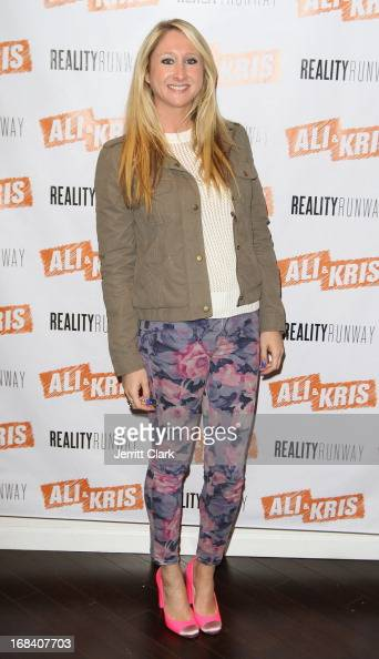 Lisa Pastrick of The Bachelor attends Reality Runway By Ali And Kris at the Ali and Kris Showroom on May 8 2013 in New York City