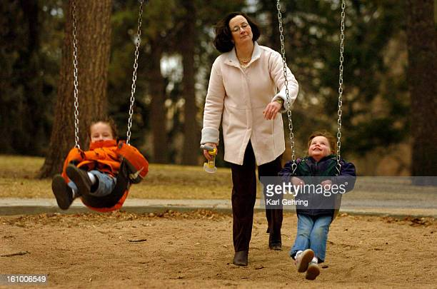 DENVER CO 20905 Lisa Phillips takes an inhaler with her when she thinks her kids might have a breathing problem Although her children don't have...