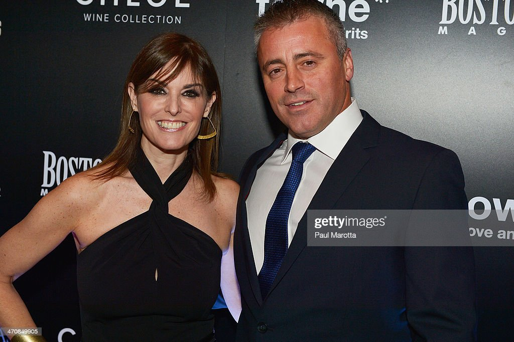 Lisa Pierpont and actor Matt LeBlanc attend the Boston Common Magazine Celebration of its Spring Issue Hosted by Cover Star, Matt LeBlanc on February 20, 2014 in Boston, Massachusetts. (Photo by Paul Marotta/Getty Images for Boston Common Magazine
