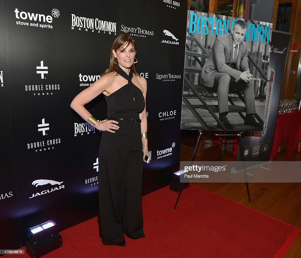 Lisa Pierpont attends the Boston Common Magazine Celebration of its Spring Issue Hosted by Cover Star, Matt LeBlanc on February 20, 2014 in Boston, Massachusetts.