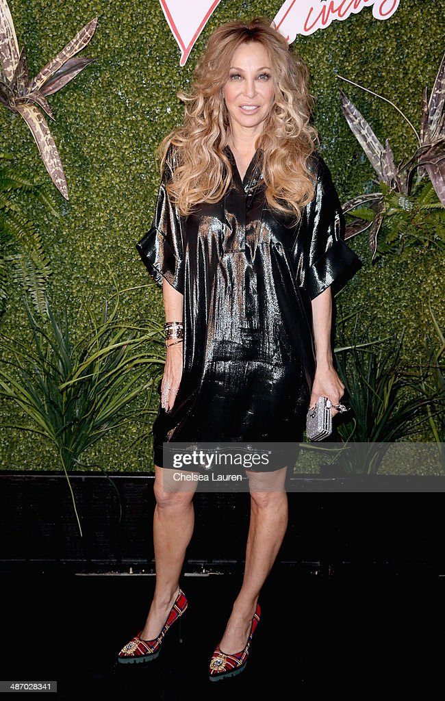 Lisa Pliner attends Lanvin And Living Beauty Host An Evening Of Fashion on April 26, 2014 in Beverly Hills, California.