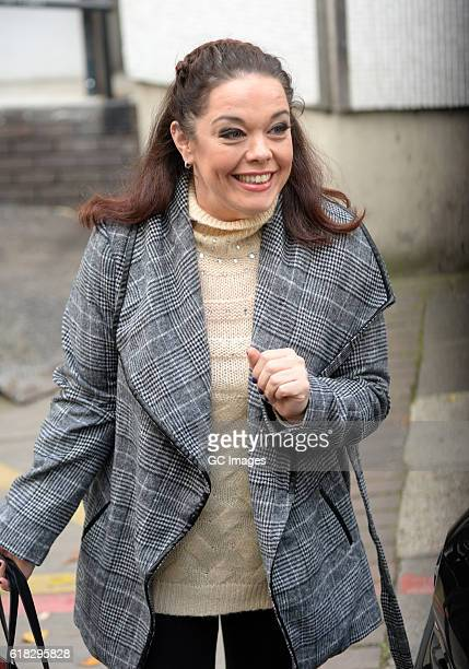Lisa Riley at The ITV Studios on October 26 2016 in London England