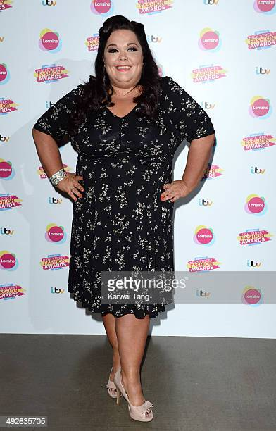 Lisa Riley attends Lorraine's High Street Fashion Awards held at Vinopolis on May 21 2014 in London England