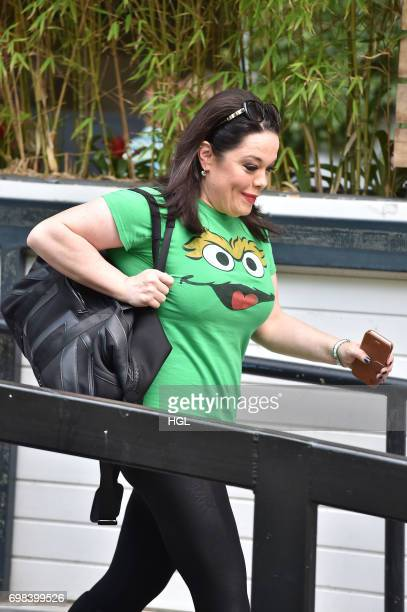 Lisa Riley seen at the ITV Studios on June 20 2017 in London England