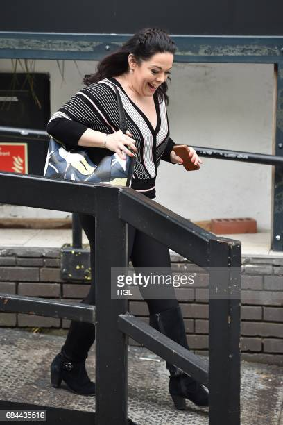 Lisa Riley seen at the ITV Studios on May 18 2017 in London England