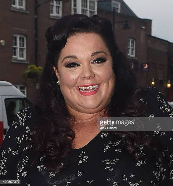 Lisa Riley sighting on May 21 2014 in London England