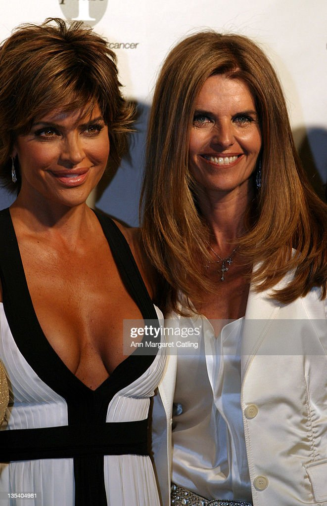 Lisa Rinna and Maria Shriver during Phase One Gala Fundraiser at Regent Beverly Wilshire Hotel in Beverly Hills CA United States