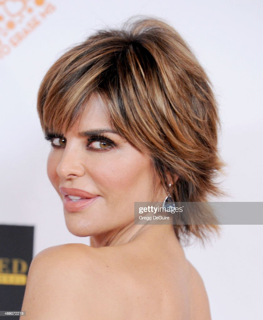 Lisa Rinna arrives at the 21st Annual Race To Erase MS Gala at the Hyatt Regency Century Plaza on May 2, 2014 in Century City, California.