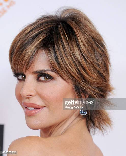Lisa Rinna arrives at the 21st Annual Race To Erase MS Gala at the Hyatt Regency Century Plaza on May 2 2014 in Century City California