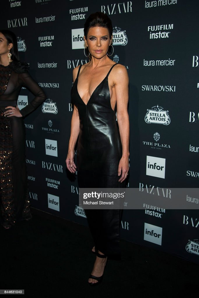 Lisa Rinna attends 2017 Harper's Bazaar Icons at The Plaza Hotel on September 8, 2017 in New York City.