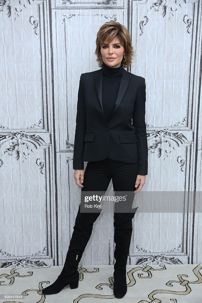 Lisa Rinna attends AOL Build Presents Lisa Rinna of 'Real Housewives of Beverly Hills' at AOL Studios In New York on December 8 2015 in New York City