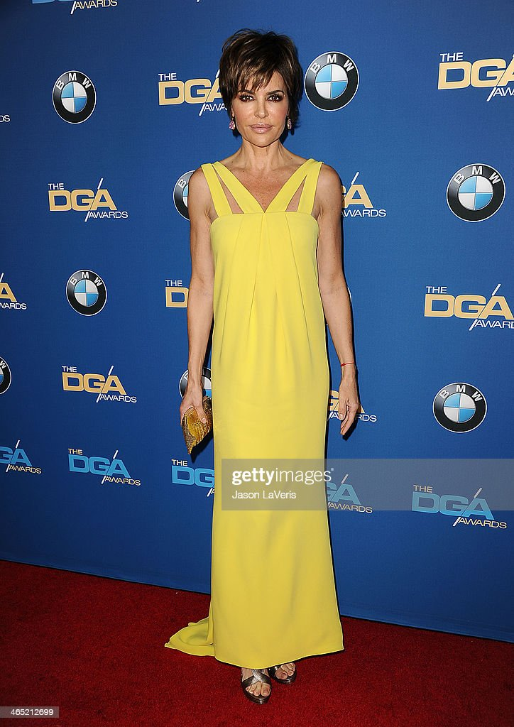Lisa Rinna attends the 66th annual Directors Guild of America Awards at the Hyatt Regency Century Plaza on January 25, 2014 in Century City, California.