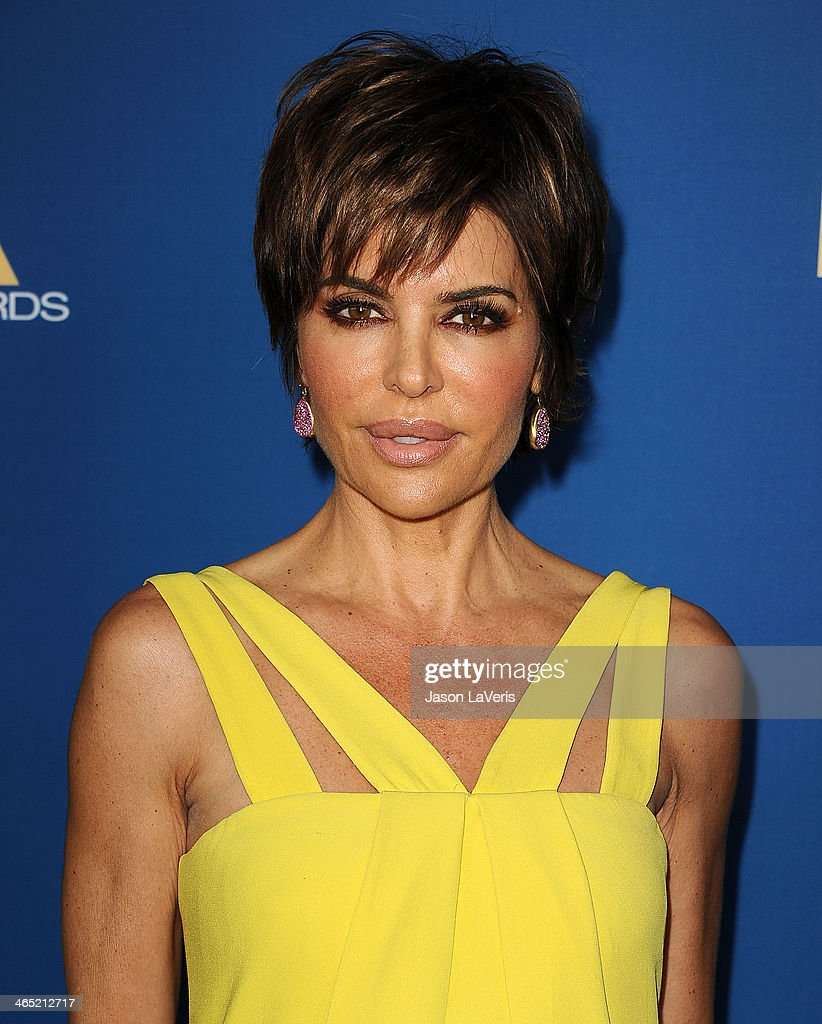 <a gi-track='captionPersonalityLinkClicked' href=/galleries/search?phrase=Lisa+Rinna&family=editorial&specificpeople=202100 ng-click='$event.stopPropagation()'>Lisa Rinna</a> attends the 66th annual Directors Guild of America Awards at the Hyatt Regency Century Plaza on January 25, 2014 in Century City, California.