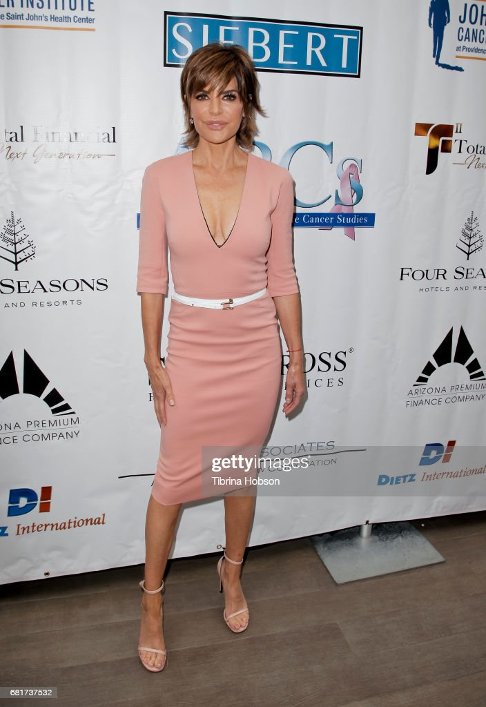Lisa Rinna attends The Associates for Breast and Prostate Cancer Studies annual Mother's Day Luncheon at Four Seasons Hotel Los Angeles at Beverly Hills on May 10, 2017 in Los Angeles, California.