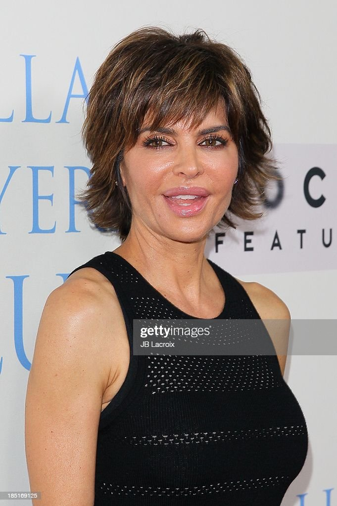 <a gi-track='captionPersonalityLinkClicked' href=/galleries/search?phrase=Lisa+Rinna&family=editorial&specificpeople=202100 ng-click='$event.stopPropagation()'>Lisa Rinna</a> attends the 'Dallas Buyers Club' Los Angeles premiere held at the Academy of Motion Picture Arts and Sciences on October 17, 2013 in Beverly Hills, California.