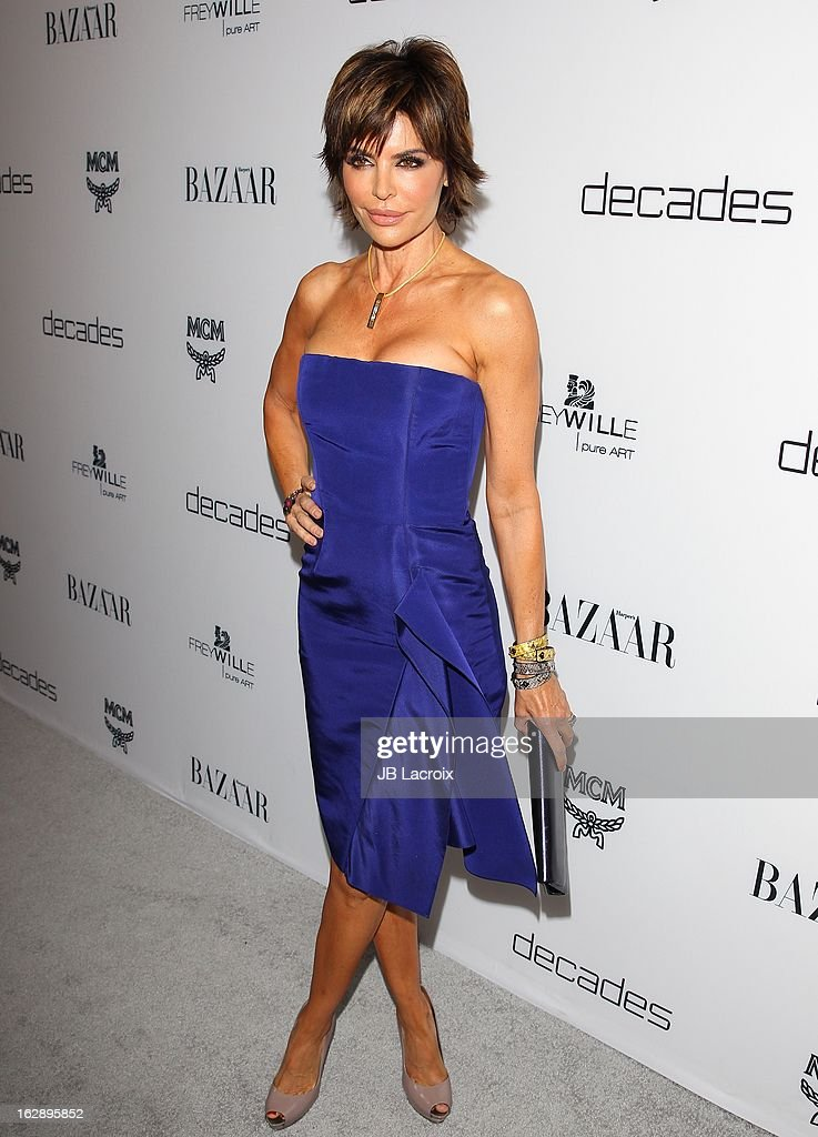 Lisa Rinna attends the Dukes Of Melrose launch hosted by Decades and Harper's BAZAAR at The Terrace at Sunset Tower on February 28, 2013 in West Hollywood, California.