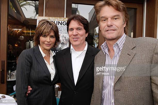 Lisa Rinna director Rob Marshall and Harry Hamlin attend The Weinstein Company and Next Generation Beverage Luncheon for 'Nine' Hosted by Shirley...
