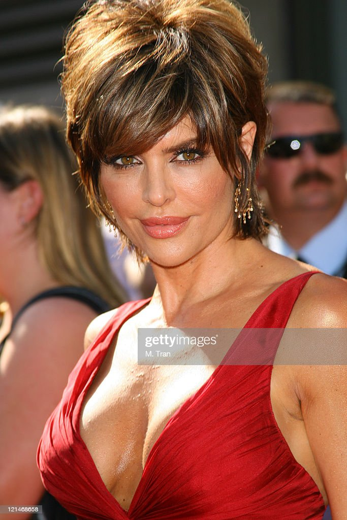 <a gi-track='captionPersonalityLinkClicked' href=/galleries/search?phrase=Lisa+Rinna&family=editorial&specificpeople=202100 ng-click='$event.stopPropagation()'>Lisa Rinna</a> during 34th Annual Daytime Emmy Awards - Arrivals at Kodak Theatre in Hollywood, California, United States.