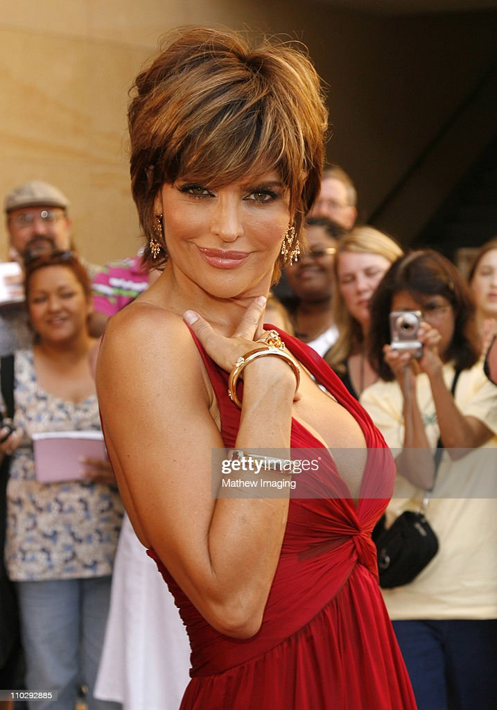 Lisa Rinna during 34th Annual Daytime Emmy Awards - Red Carpet at Kodak Theatre in Hollywood, California, United States.