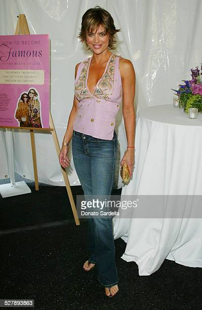 Lisa Rinna during Launch Party For How To Become Famous In Two Weeks or Less Sponsored By Ciroc at Tracey Ross Store in West Hollywood California...