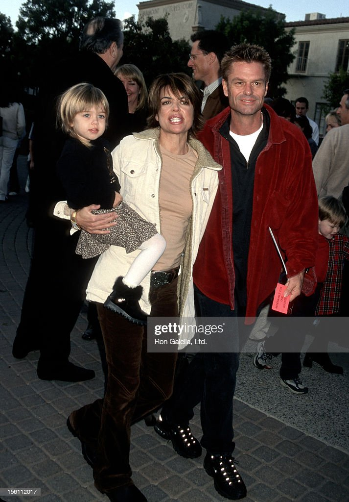 Lisa Rinna, Harry Hamlin and daughter during 'Jimmy Neutron: Boy Genius' Los Angeles Premiere at Paramount Studios in Los Angeles, California, United States.
