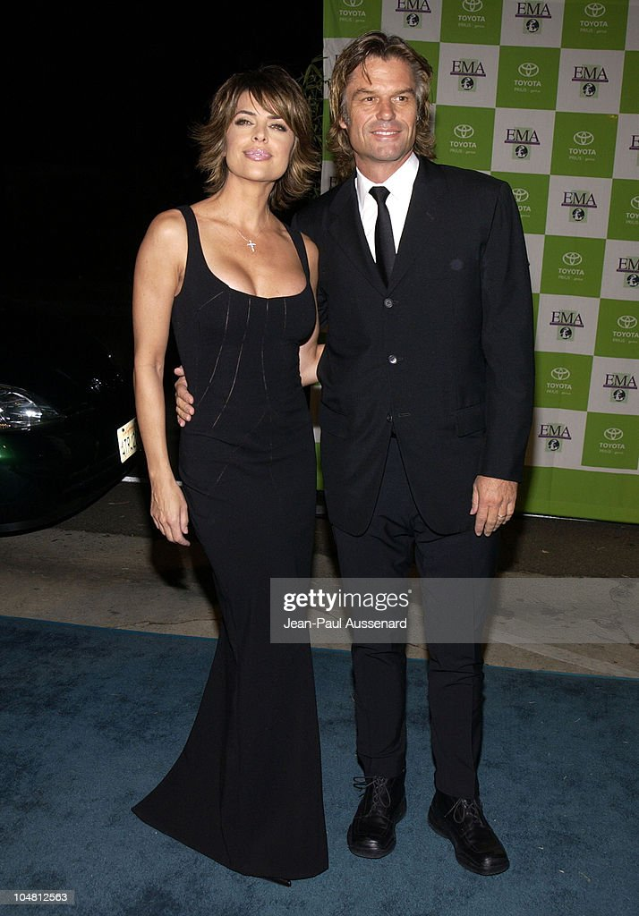 Lisa Rinna & Harry Hamlin during 12th Annual Environmental Media Awards at Wilshire Ebell Theatre in Los Angeles, California, United States.