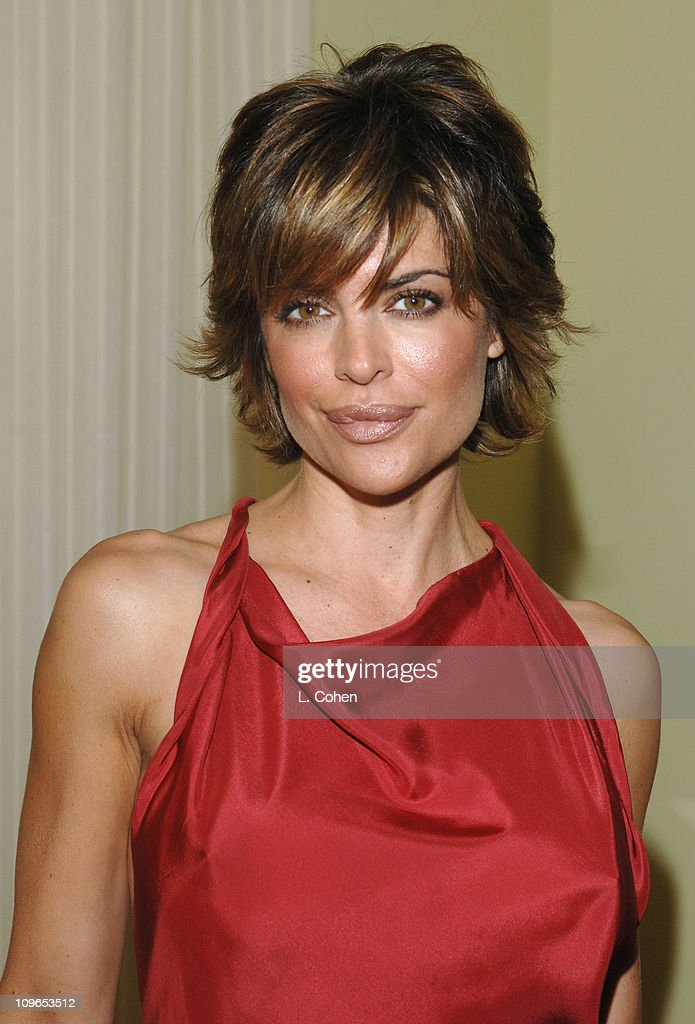 Lisa Rinna in Moschino during Moschino 2005 Fall Fashion Show and Luncheon at Chateau Marmont in Los Angeles, California, United States.