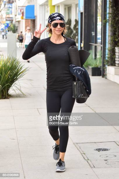 Lisa Rinna is seen on March 17 2017 in Los Angeles California