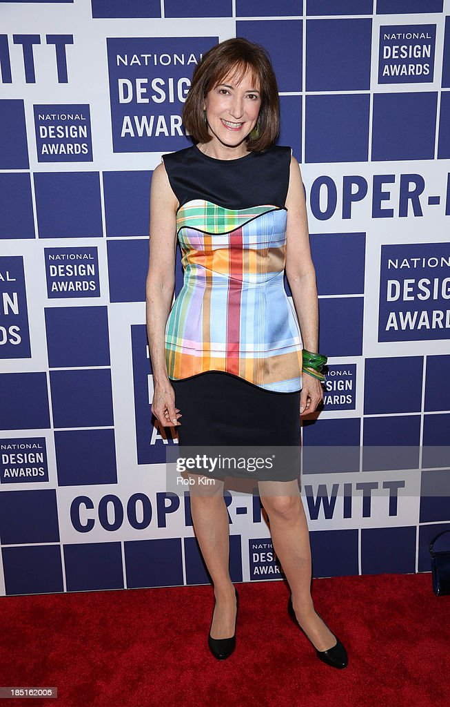 Lisa Roberts attends the 2013 Cooper-Hewitt National Design Awards at Pier 60 on October 17, 2013 in New York City.