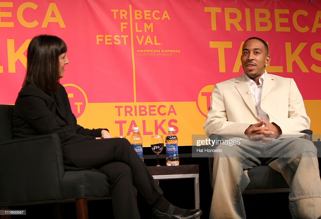 Lisa Robinson and Ludacris during 6th Annual Tribeca Film Festival - Ludacris Panel Discussion at Pac 2 Performing Arts Center in New York City, New York, United States.