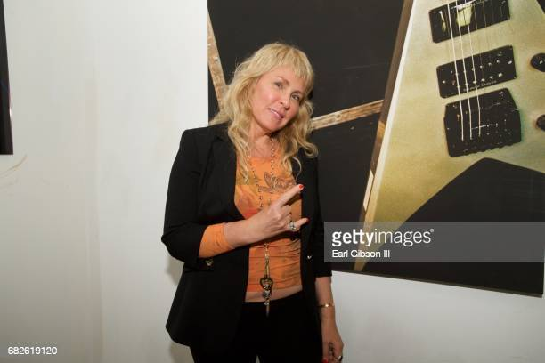 Lisa S Johnson attends the Malibu Guitar Festival Gallery Opening Reception at Malibu Village on May 12 2017 in Malibu California