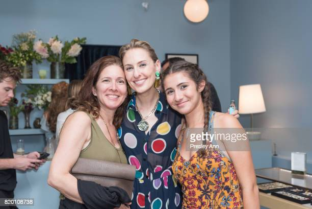 Lisa SalzerWiles attends Lulu Frost Opening Celebration at Lulu Frost on July 20 2017 in New York City
