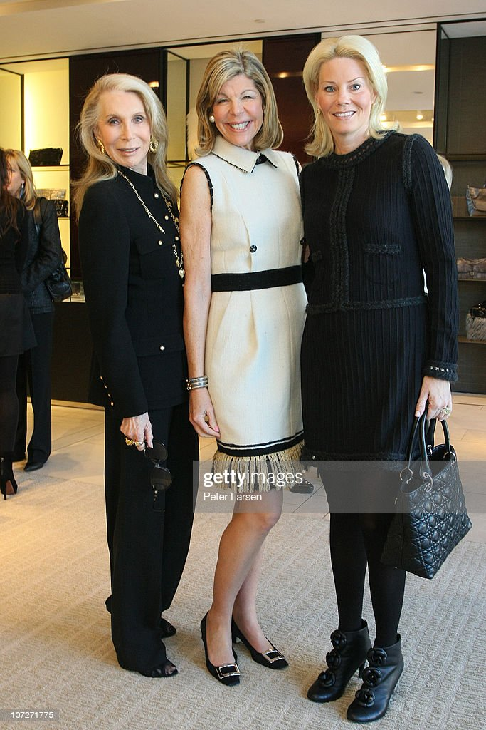 Lisa Schnitzer, Jamee Gregory and Kelli Ford attend the Jamee Gregory Book Signing Event at Chanel Boutique Dallas on December 2, 2010 in Dallas, Texas.