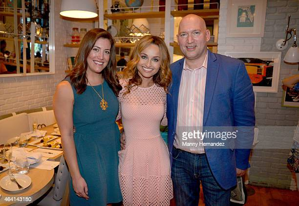Lisa Schuster Giada De Laurentiis and Filippo Lapides A Perfect Pairing A Brunch hosted by Giada De Laurentiis and Andrew Carmellini during 2015 Food...