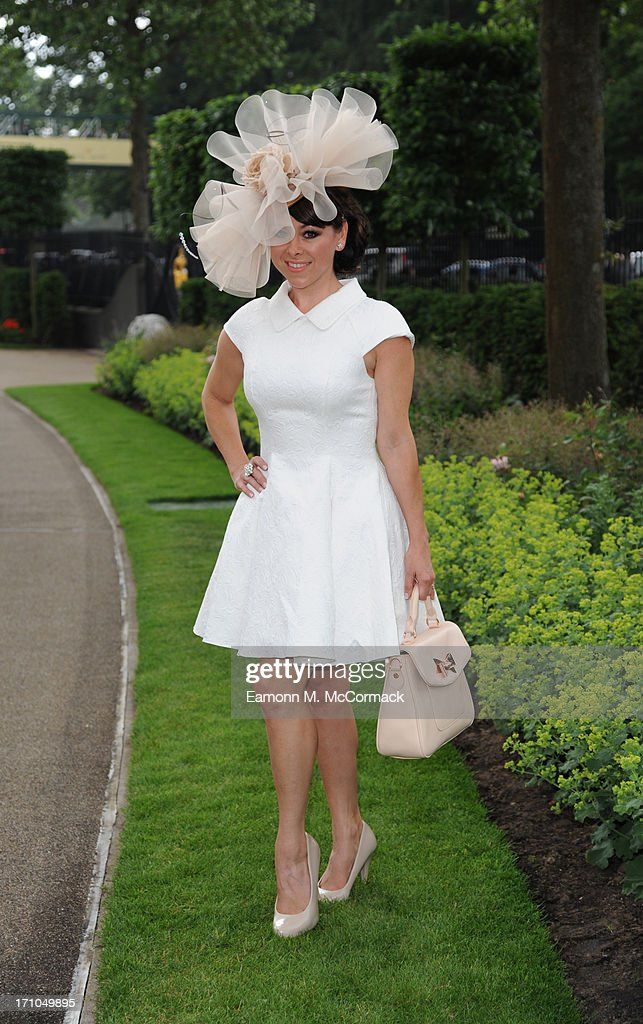 Lisa Scott-Lee attends Day 4 of Royal Ascot at Ascot Racecourse on June 21, 2013 in Ascot, England.