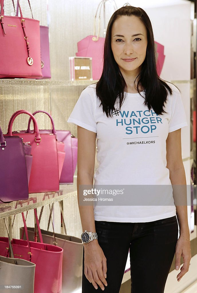 Lisa Selesner attends Michael Kors World Food Day - Hong Kong on October 16, 2013.