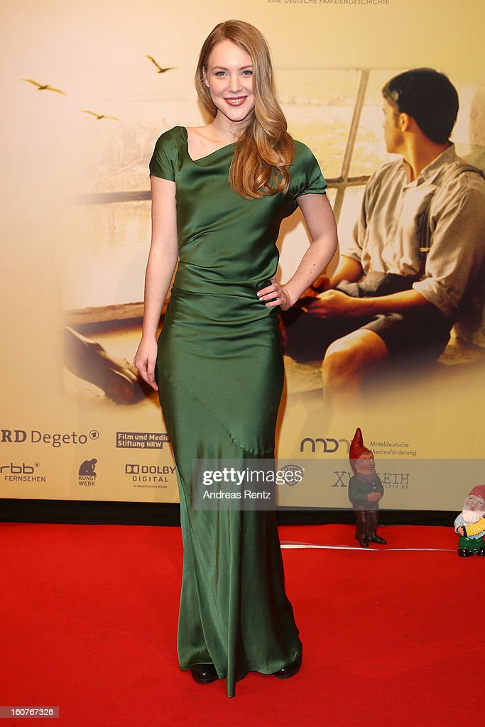Lisa Smit attends 'Quelle des Lebens' Germany Premiere at Delphi Filmpalast on February 5, 2013 in Berlin, Germany.