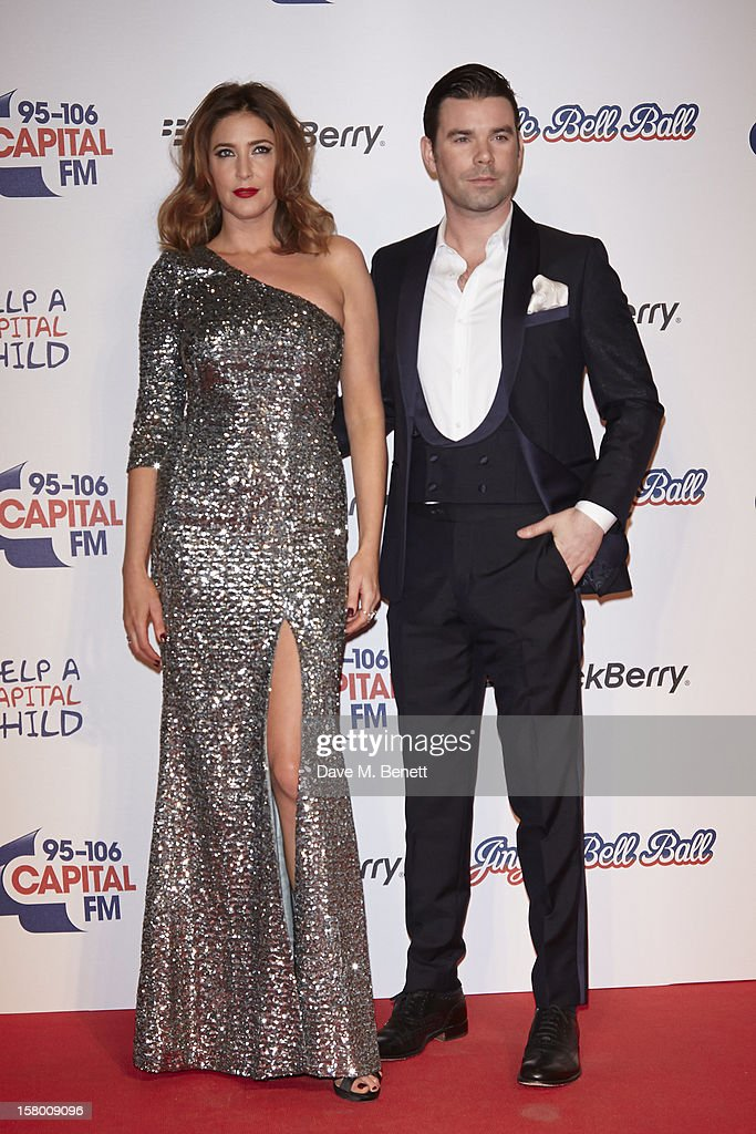 Lisa Snowdon and <a gi-track='captionPersonalityLinkClicked' href=/galleries/search?phrase=Dave+Berry+-+Television+Presenter&family=editorial&specificpeople=15087411 ng-click='$event.stopPropagation()'>Dave Berry</a> attend the Capital FM Jingle Bell Ball at 02 Arena on December 8, 2012 in London, England.